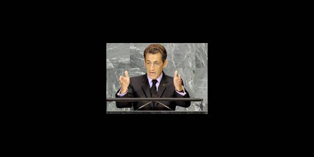 Sarkozy propose une conférence en novembre
