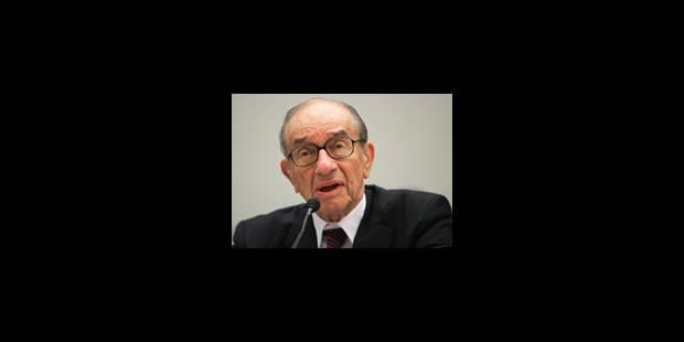 """Greenspan : """"Le marché vit un tsunami comme on en voit un par siècle"""""""