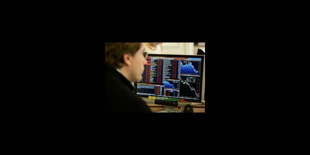Deux chocs font vaciller les bourses - La Libre