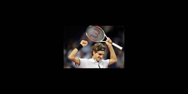 Troisième titre d'affilée à Bâle pour Roger Federer - La Libre