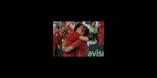 L'Espagne remporte sa troisième Coupe Davis - La Libre