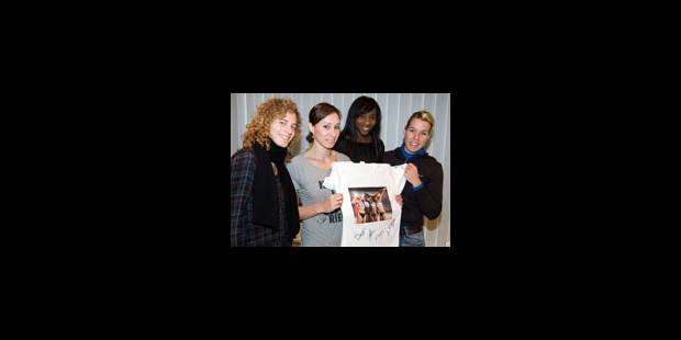 Kim Gevaert emmène les relais du coeur - La Libre