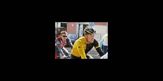 Armstrong en est à son 11e contrôle antidopage - La Libre