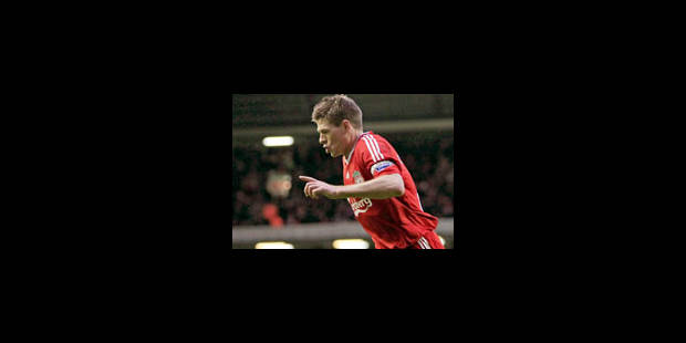 Steven Gerrard relâché ce matin