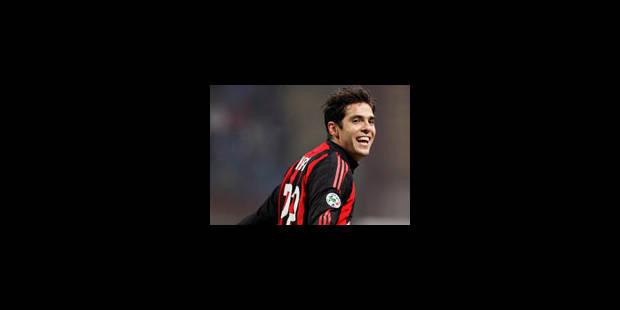 Kaka dément vouloir quitter l'AC Milan - La Libre