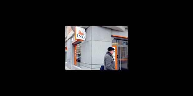 ING Belgique va supprimer plus de 100 emplois