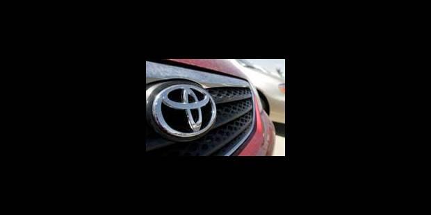 Toyota rappelle 11.000 voitures en Belgique