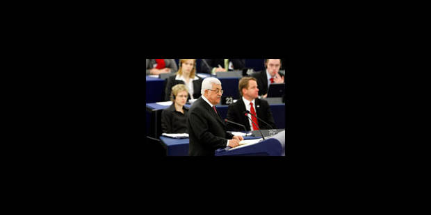 Mahmoud Abbas en appelle à l'Europe