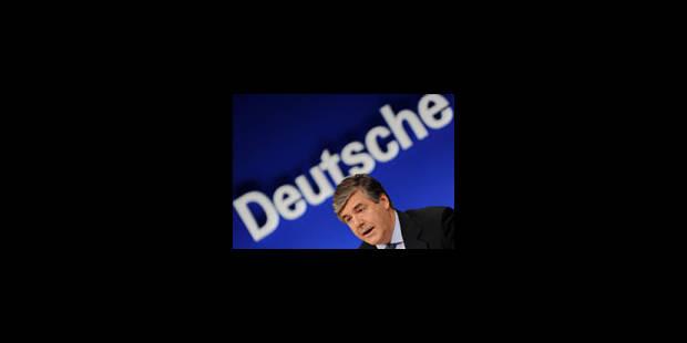 Le dossier Deutsche Bank mis à l'information