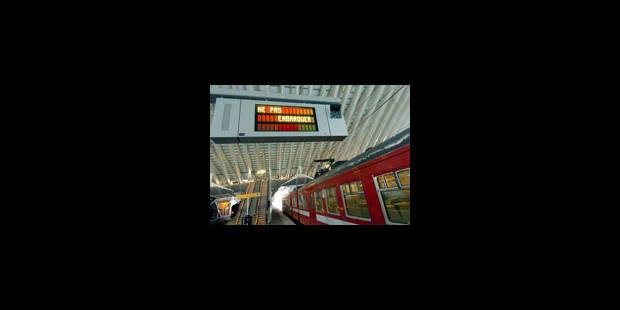 La circulation des train entre Bruxelles et Namur rétablie - La Libre