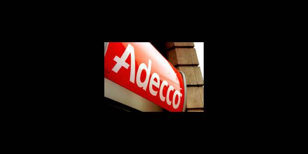 Adecco Belgique veut supprimer 150 emplois