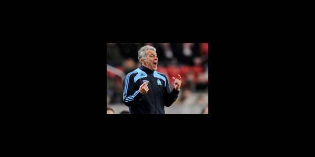 """Eric Gerets rêve du doublé """"UEFA - championnat"""""""