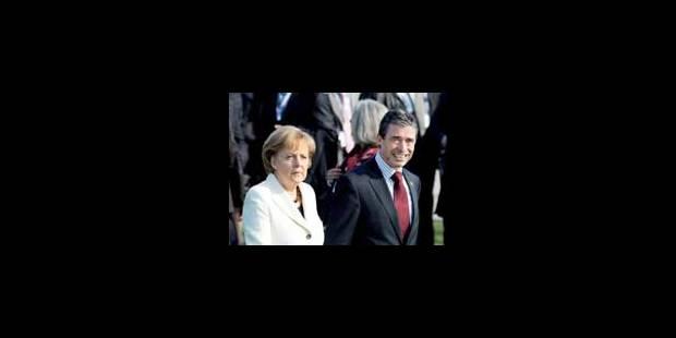 Rasmussen secrétaire général de l'OTAN, Obama garant