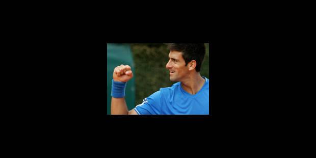 Djokovic montre ses muscles