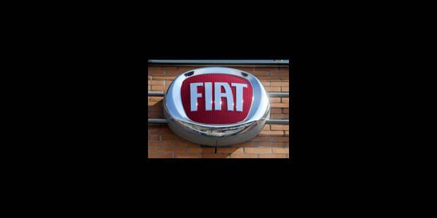 Fiat passe dans le rouge au premier trimestre