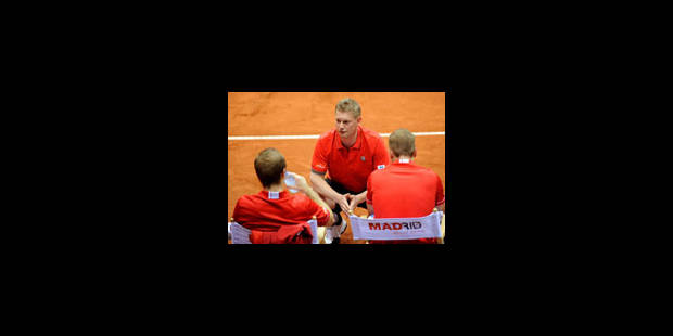 Coupe Davis: la Belgique contre l'Ukraine en barrage - La Libre