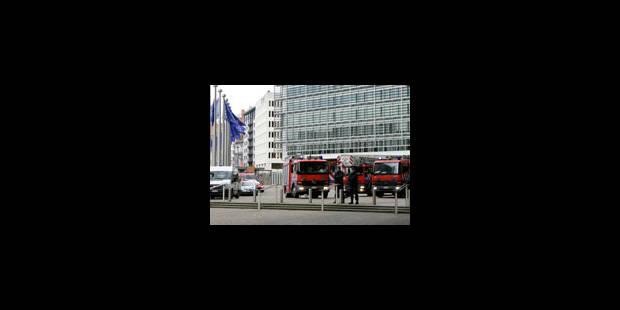 Berlaymont: réouverture à une date indéterminée - La Libre