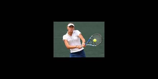 Yanina Wickmayer qualifiée pour les 8e de finale - La Libre