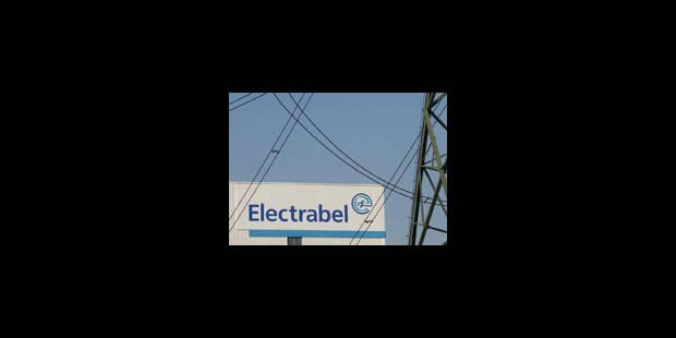 Electrabel: pas d'impôt sur ses profits