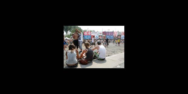 Débuts ensoleillés pour le festival Rock Werchter - La Libre