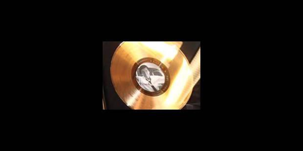 Le seuil des disques d'or une nouvelle fois baissé