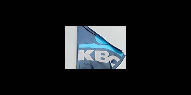 Des clients de KBC transigent
