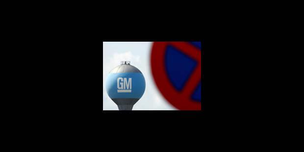 GM: 6.000 ouvriers supplémentaires ont accepté un départ volontaire
