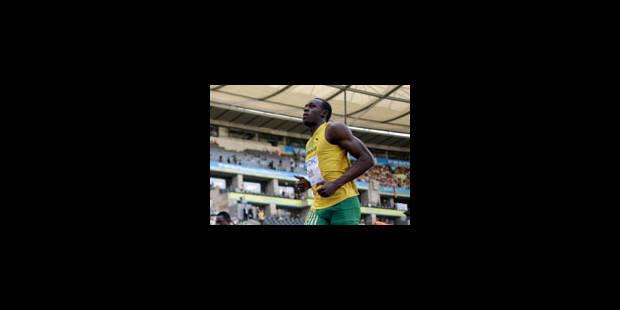 100 m (m) - 1er tour: Usain Bolt et Tyson Gay sans problèmes - La Libre