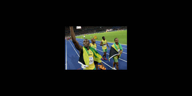 Troisième titre pour Bolt - La Libre