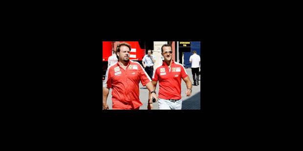 Ferrari prolongerait le contrat de Schumacher