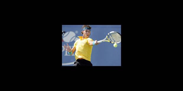 Nadal, pleinement rassuré, balaie le revenant Gasquet - La Libre
