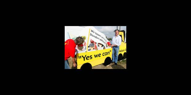 Opel: l'action de solidarité a démarré à Anvers
