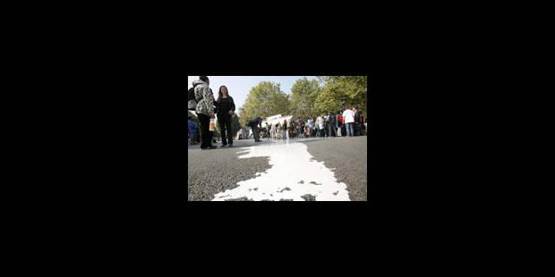La grève du lait est suspendue - La Libre