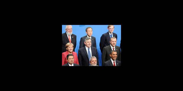 Le G20 s'accorde à rééquilibrer l'économie mondiale - La Libre