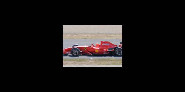Ferrari ne désespère pas d'avoir une 3e monoplace - La Libre