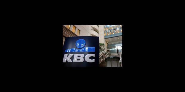 8.700 travailleurs de KBC touchés par les cessions