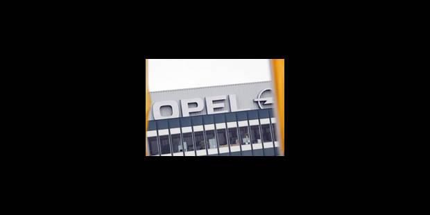 Opel Anvers: plus de clarté sur l'avenir de l'usine mercredi