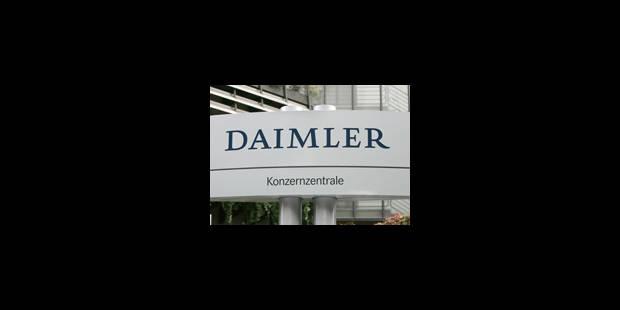 Daimler veut lancer une voiture à pile à combustible d'ici 2015 - La Libre