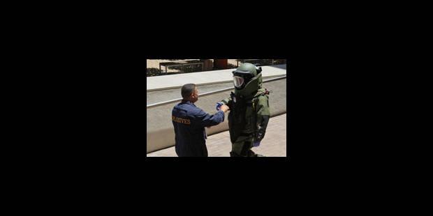 Alerte à la bombe au centre du tirage au sort du Mondial 2010 - La Libre