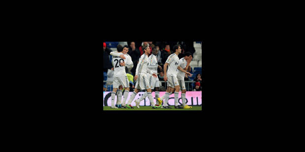 Le Real Madrid fait exploser Saragosse - La Libre