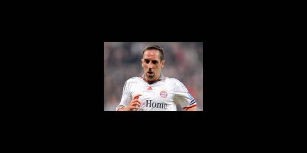 Bayern Munich - Ribéry absent de l'entraînement pour blessure - La Libre
