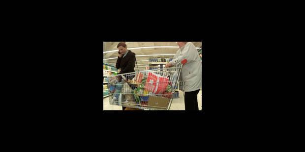 Le panier de la ménagère un peu plus cher en 2009 - La Libre