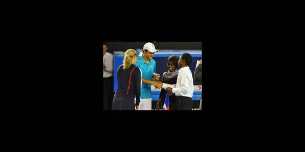 Du tennis en faveur de Haïti à Melbourne - La Libre