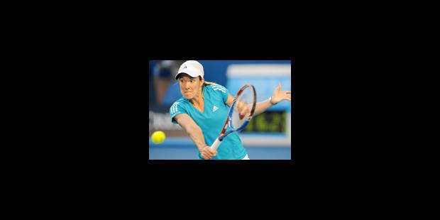 Justine Henin qualifiée pour le 3e tour