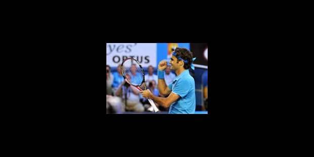 Federer en demi au terme d'un match renversant