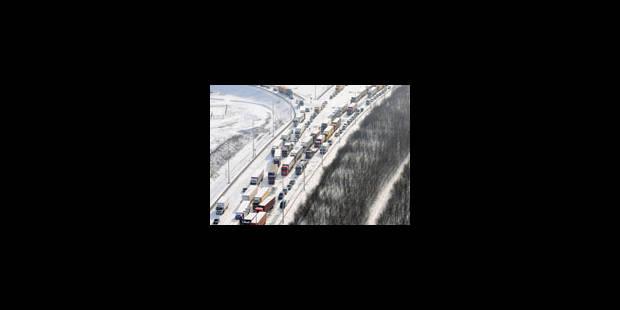 La neige met la Belgique chaos - La Libre