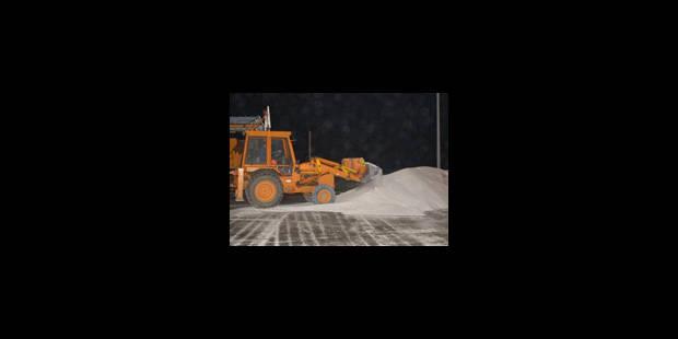 Plus de 240 tonnes de sable épandues - La Libre