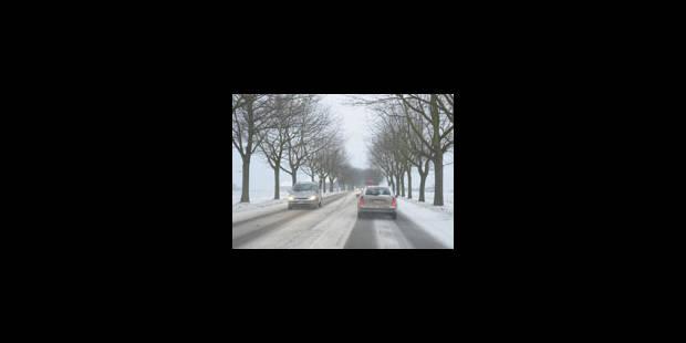 La neige et le verglas ne désarment pas - La Libre