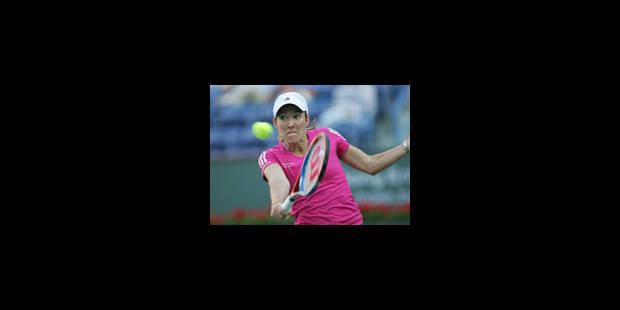 Justine Henin réintègre le classement WTA en 33e position
