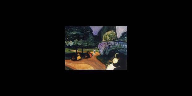 """La Pinacothèque de Paris propose de redécouvrir un """"autre"""" Munch, sans """"Le Cri"""" ni les tableaux les plus connus - La Lib..."""